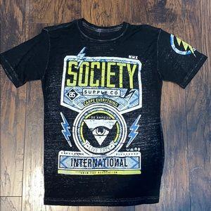Society buckle shirt